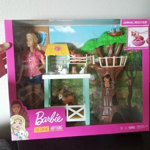 Barbie animal rescuer playset